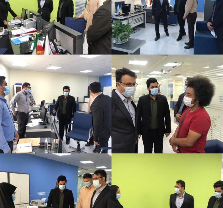 فرماندار از شهرداری قشم بازدید کرد